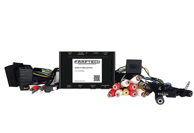 Interface Desbloqueio multimídia BMW 316 320 328 335 M3 F30  - 2012 á 2016 - LVDS Entrada Tv Digital Espelhamento Câmera de Ré e GPS