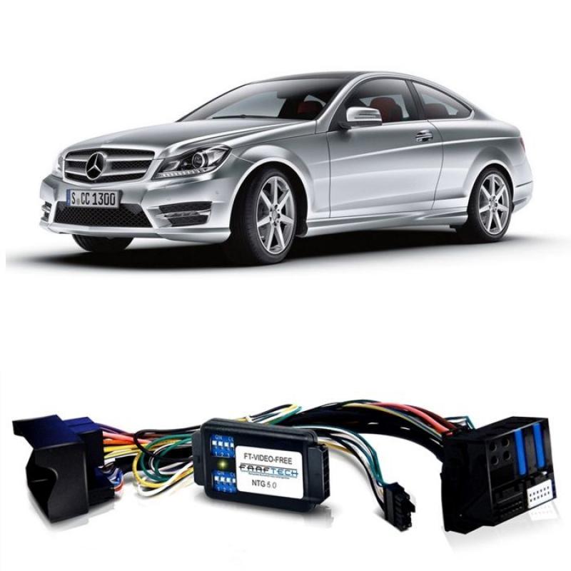 Interface Desbloqueio multimídia Mercedes Gla Cla Cls Glc Gle Gls Classe A B C  - LVDS Entrada Tv Digital Espelhamento Câmera de Ré e GPS