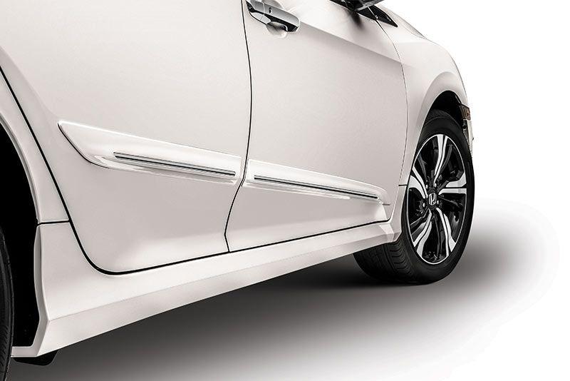 Jogo Friso Lateral Pintado Honda New Civic G10 2017 2020  - Cor Original