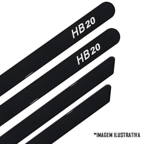 Jogo Friso Lateral Pintado Hyundai HB20 2012 2013 2014 2015 - Cor Original