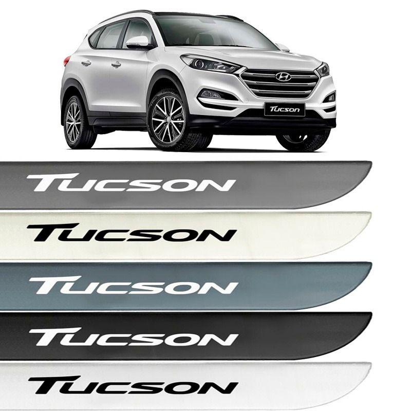 Jogo Friso Lateral Pintado Hyundai New Tucson 2017 2018 - Cor Original