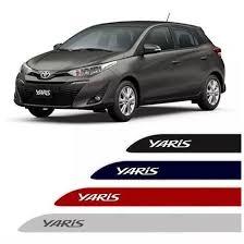 Jogo Friso Lateral Pintado Toyota Yaris - Cor Original