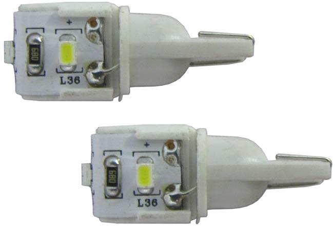 Kit Lâmpada LED Pingo Super Brilho Gerton 3 SMD - 2 Peças