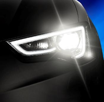 Kit Lâmpada Super LED Headlight H11 6000K 12V e 24V 32W 4400LM Efeito Xenon - Encaixe HB4 HB3 H1 H3 H4 H7 H11 H27 H16
