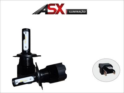 KIT Lampadas HB20 Nova Geração 2020 / 2021 - LED ULTRA Slim - H4 Farol Baixo/Alto - c/ Canceller Cambus - 7.000 lums