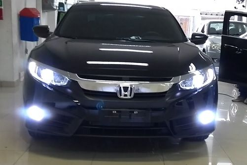 Kit Lampadas Honda Civic G10- LED ULtra Shock Ligth Titanium  -  2 kits Farol Baixo  e Milha