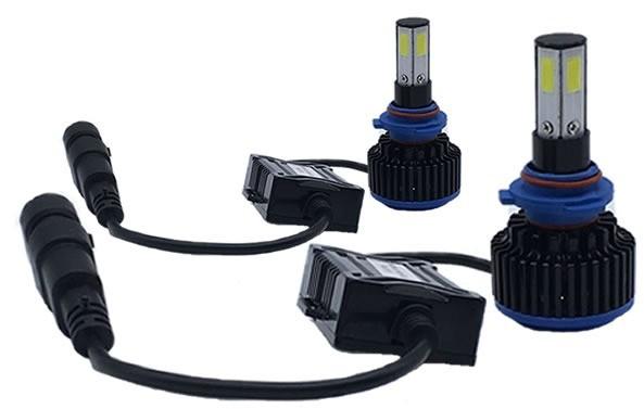 Kit Lampadas Honda HRV - LED ULtra 8000 Lumes  - 6000K - 4D - Farol Alto/Baixo + Milha + Lanterna