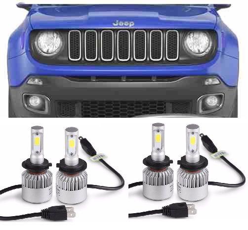 Led Lights Jeep Renegade: _Kit Lampadas Jeep Renegade