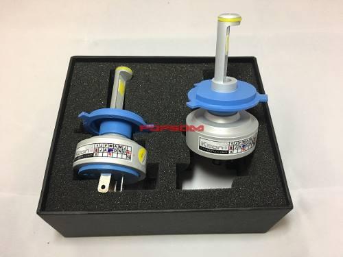 Kit Par Lâmpada Ultra LED - 4300K - Sistema Cam Bus 7200 lumes -  Efeito Xenon H1 H3 H4 H7 H11 H27 Hb4