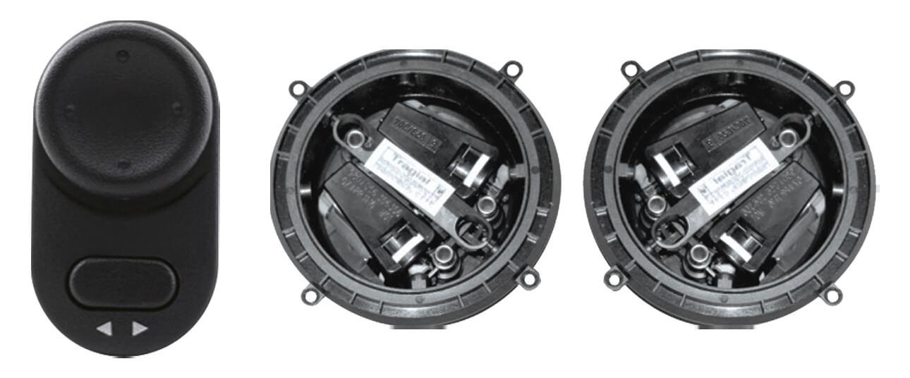 Kit Retrovisor Eletrico Onix Plus 2020 2021  - Automatiza seu Retrovisor Original + Tilt Dow - Tragial -  GMSE115
