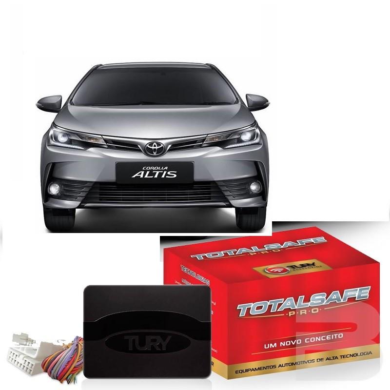 Módulo Subida De Vidro Corolla 2015 Á 2018 -  Tury Pro 4.37 M  - Com Anti - esmagamento