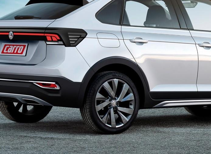 Parafuso Trava AntiFurto para Rodas VW TCross / Nivus - 4 pçs