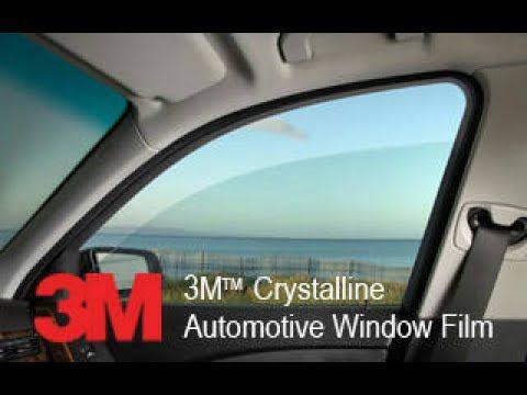 Película Automotiva 3M Crystalline 70 - Transparencia, Alta tecnologia e alta performance rejeita até 97% dos raios infravermelhos e até 60% do calor solar, Garantia 15 anos   PARA-BRISAS - Sedan/SUV