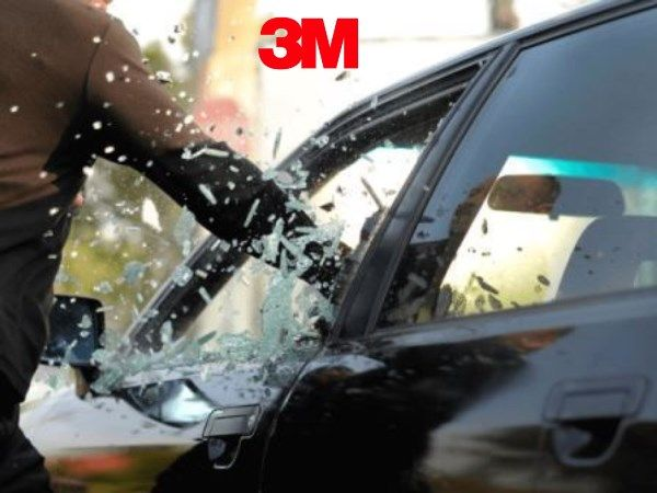 Películas de Segurança para Vidros Automotivos Scotchshiel da 3M  (SAS) - Antivandalismo