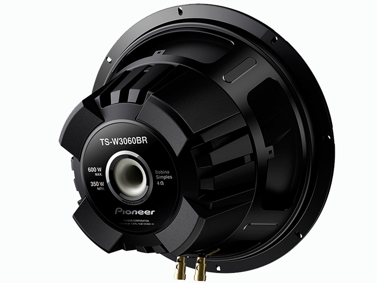 """Pioneer Subwoofer 12"""" TS-W3060BR (350WRMS)"""