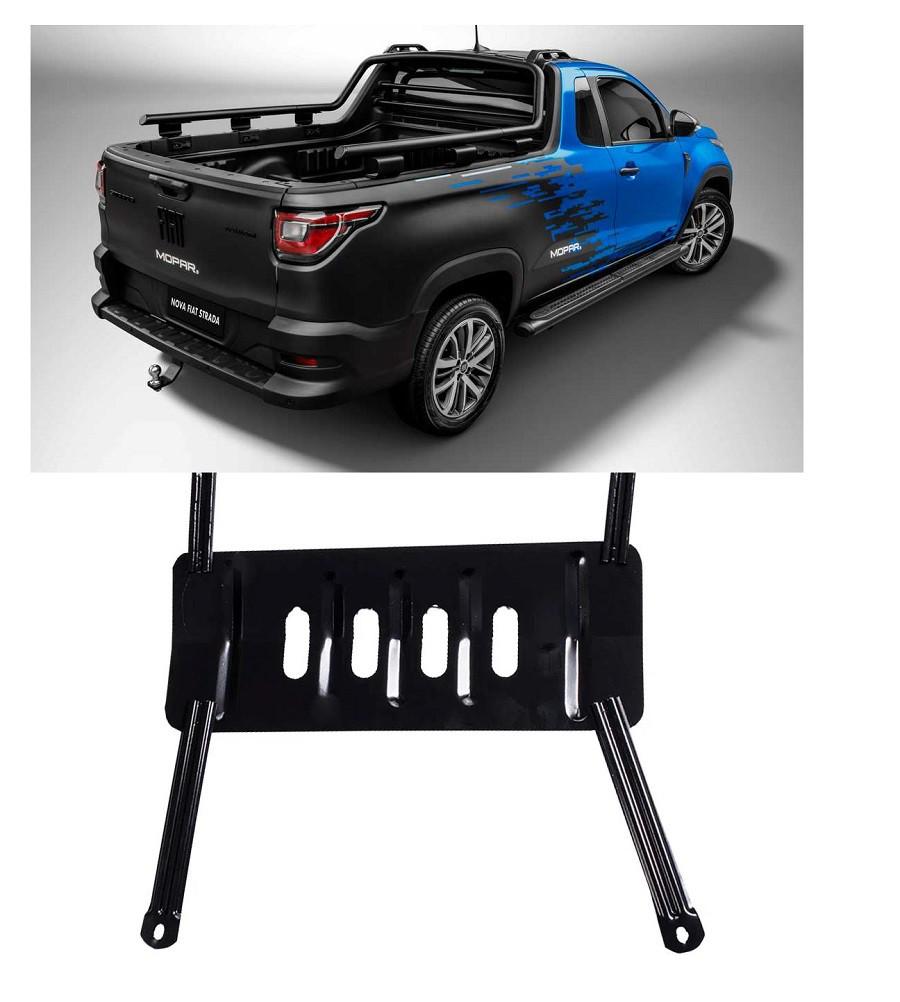 Protetor Carter Fiat Strada 2021 - Cabine simples e Dupla