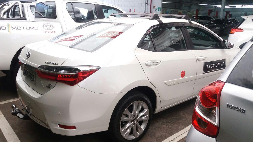 Rack De Teto Corolla 2015 a 2018 - Eqmax  - Preto / Prata