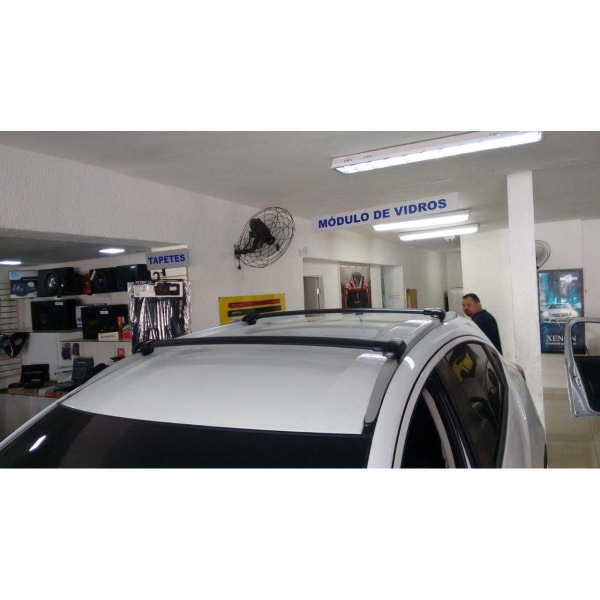 Rack Travessa Honda HRV 2015 a 2018  - Preto