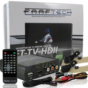 Sintonizador e Receptor Tv Digital Full Hd Com Saída Hdmi Faaftech