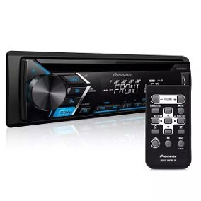 Som Automotivo CD Player Automotivo Pioneer DEHS1080UB, Entrada USB, Reproduz MP3, Mixtrax , Controle Remoto