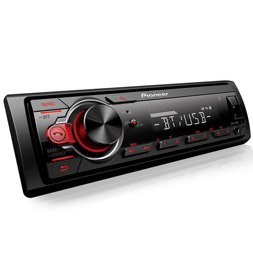 Som Automotivo Media Center Pioneer MVH218BT Com Bluetooth, Entrada USB, Controle De Subwoofer, Controle Remoto