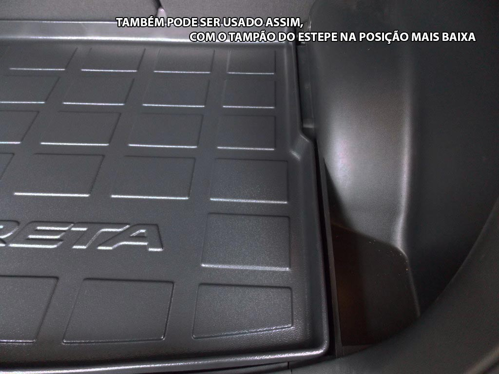 Tapete Bandeja Porta Malas Hyundai Creta - Pvc