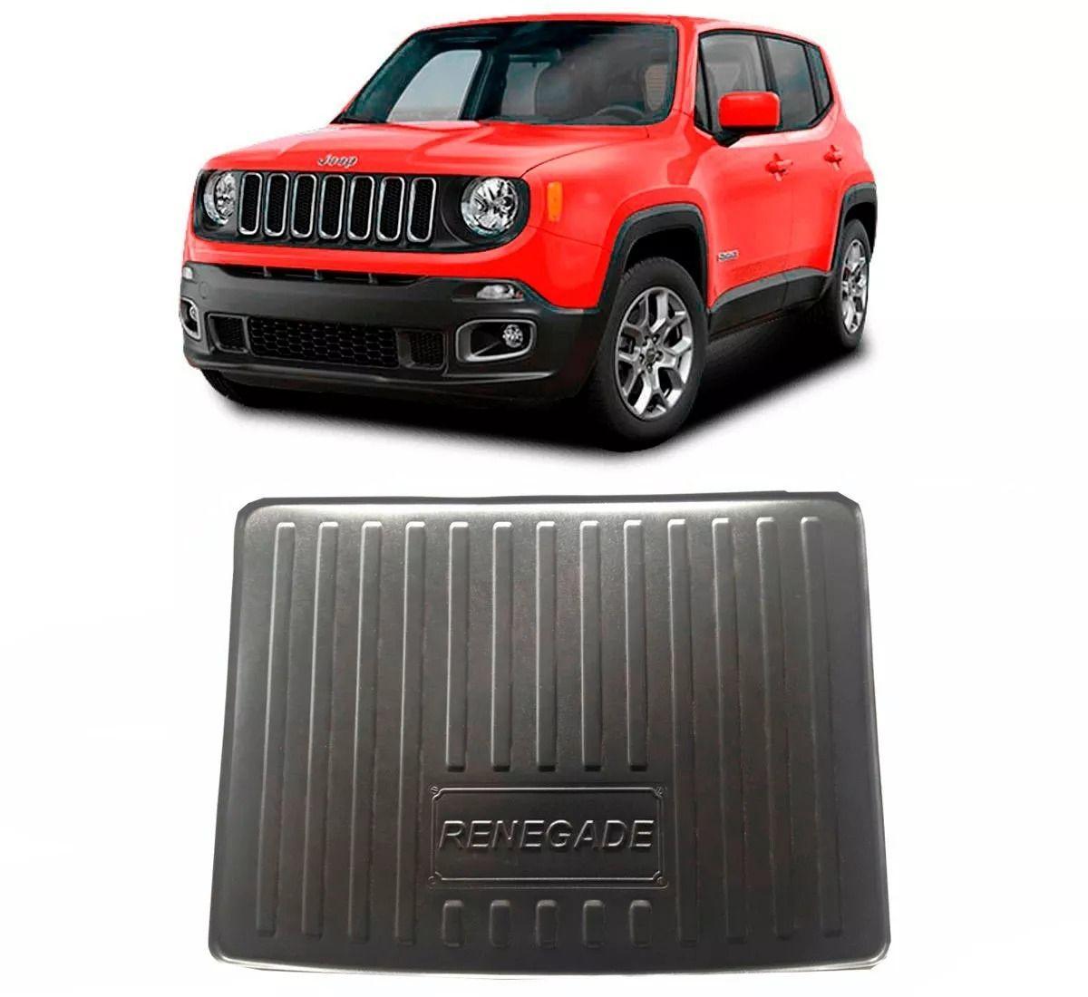 Tapete Bandeja Porta Malas Jeep Renegade - Pvc