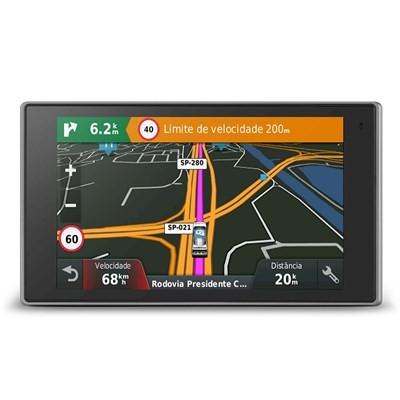 Gps Garmin AutoDrive Luxe 50LM Atualização Vitalicia de Mapa