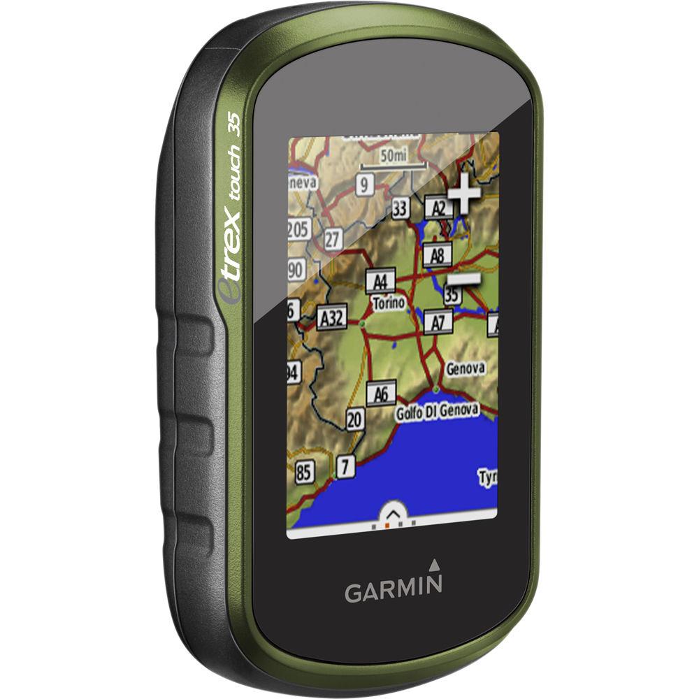 Gps Garmin Etrex 35 Touch Brindes Mapa Rodoviario e Topografico