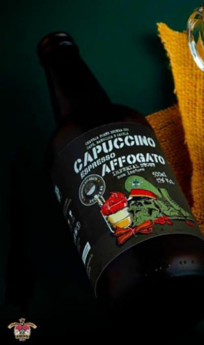 5 Elementos Capuccino Espresso Affogato  Imperial Stout 500ml