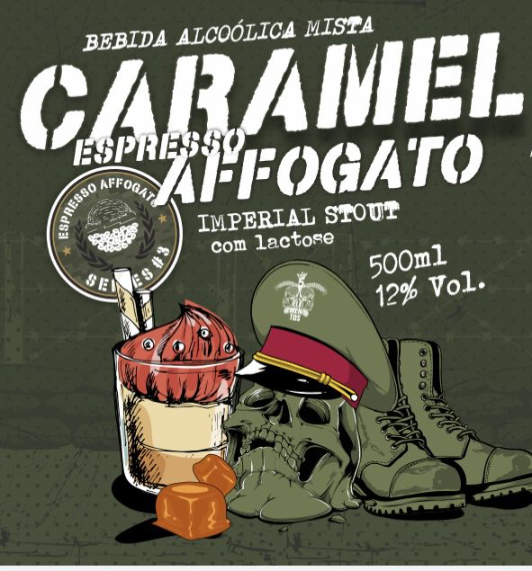 5 Elementos Caramel Espresso Affogato 500ml