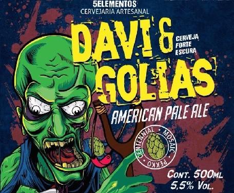 5 Elementos Davi & Golias 310ml American Pale Ale