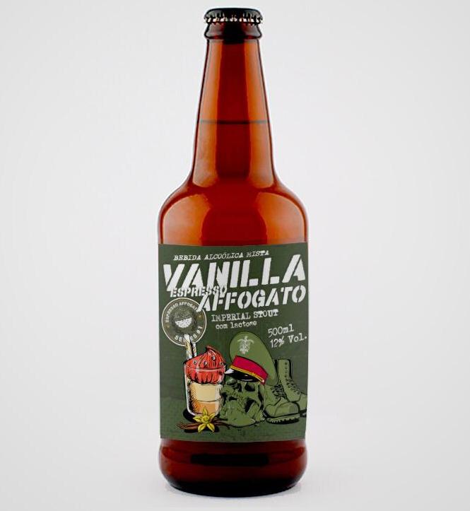 5 Elementos Vanilla Espresso Affogato 500ml