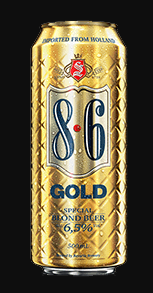 8.6 Blond Gold Lata 500ml