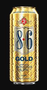 8.6 Blond Gold Lata 500ml