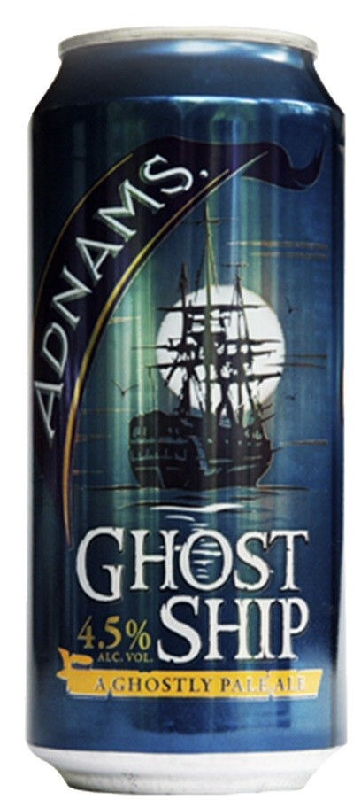 Adnams Ghost Ship Lata 440ml Caixa com 24 Unidades