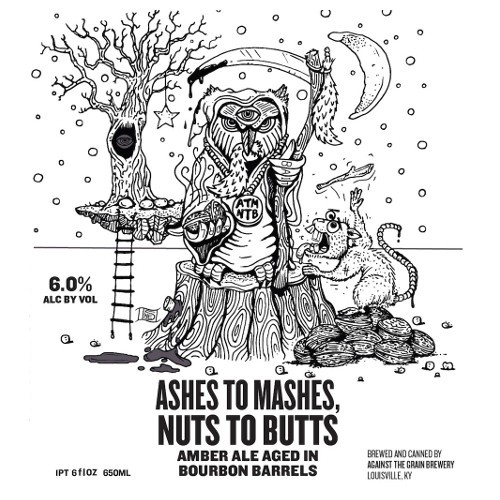 Against the Grain Ashes to Mashes 750ml Amber Ale BA