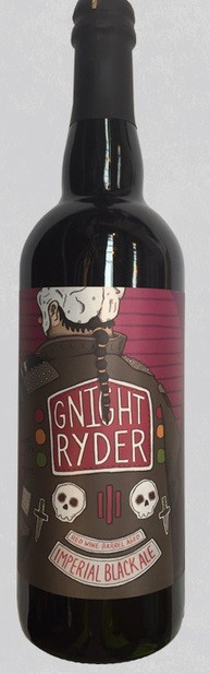 Against The Grain Gnight Rider 750ml Imperial Black Ale