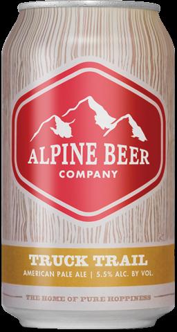 Alpine Beer Truck Trail Lata 355ml