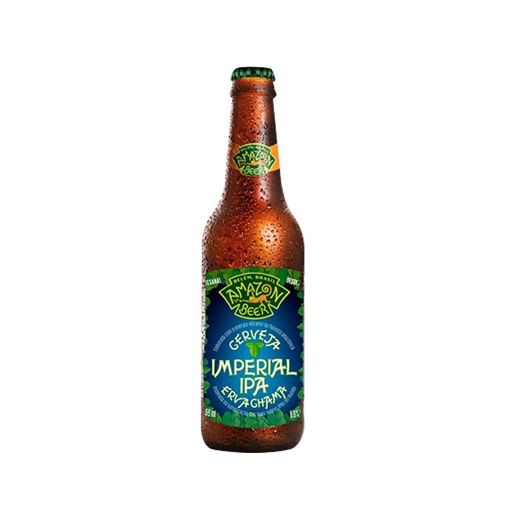 Amazon Imperial IPA Erva Chama 355ml