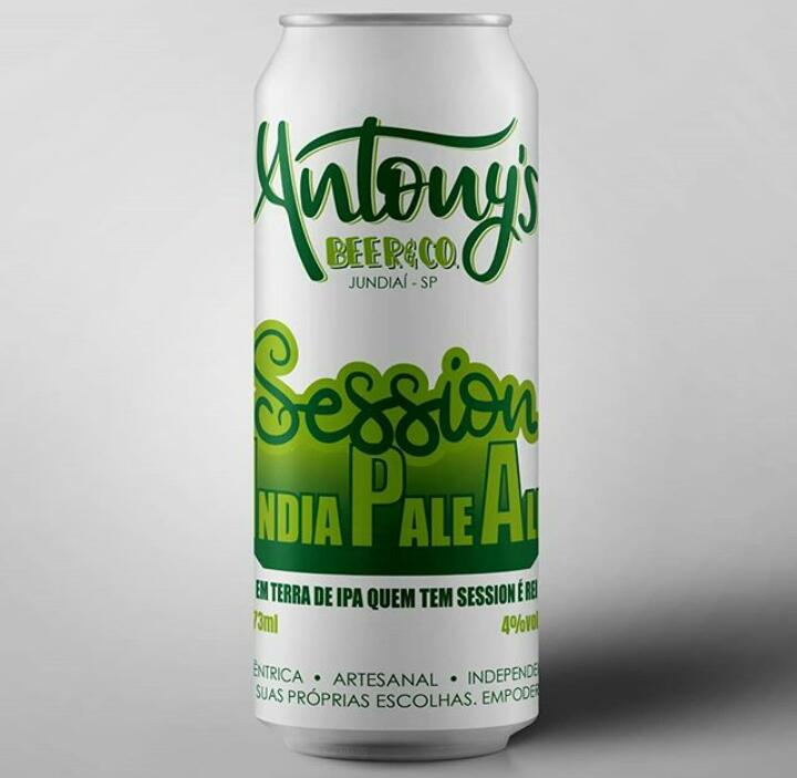Antony's Beer & Co. Session IPA Lata 473ml
