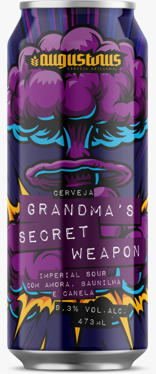 Augustinus Grandma's  Secret Weapon Lata 473ml Imperial Sour