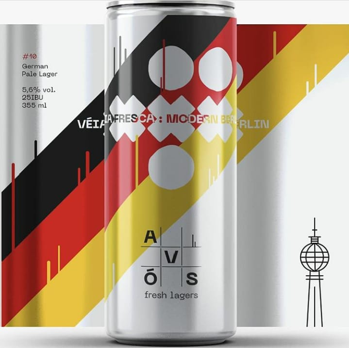 Avós Veia Fresca  #10 Modern Berlin  355ml  German Pale Lager