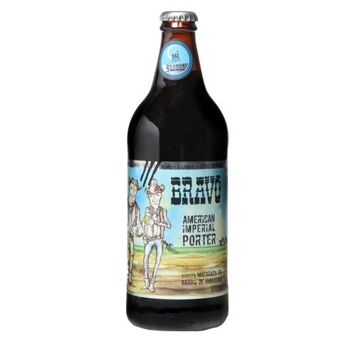 Backer 3 Lobos Bravo 600ml Imperial Porter