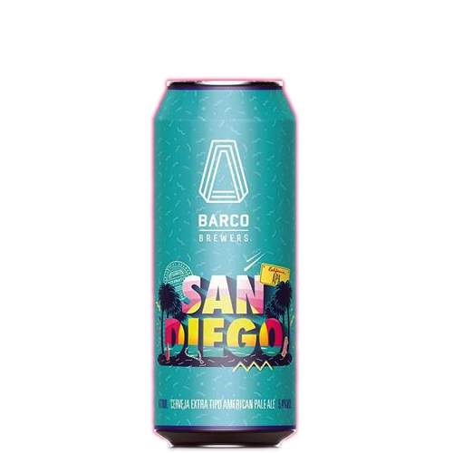 Barco San Diego Lata 473ml American pale ale
