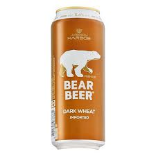 Bear Beer Dark Wheat Lata 500ml