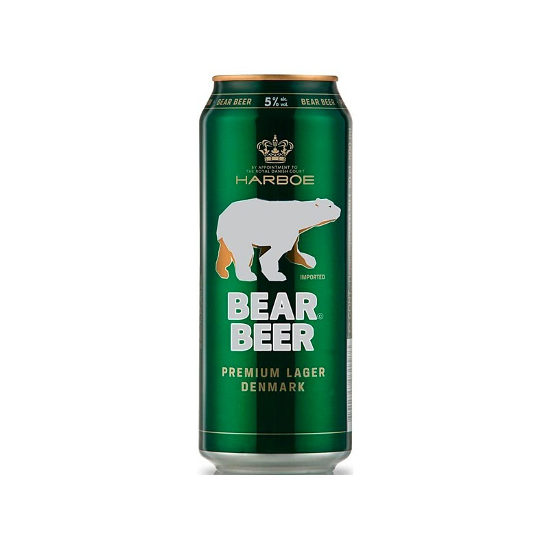 Bear Beer Premium Lager 5% Lata 500ml
