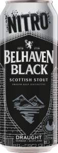 Belhaven Black Nitro Lata 440ml Dry Stout