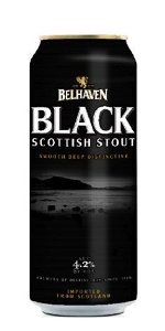 Belhaven Black Stout Lata 440ml Dry Stout