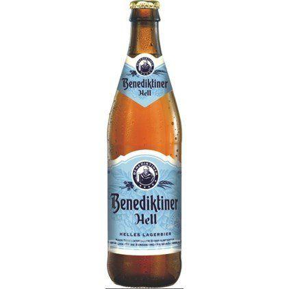 Benediktiner  Original Hell 500ml  Helles
